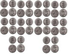 Moldova - 10 pcs x set 2 coins 1 + 2 Lei 2020 UNC Lemberg-Zp