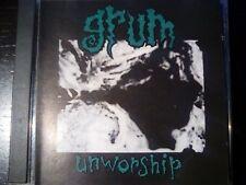 GRUM -  UNWORSHIP CD