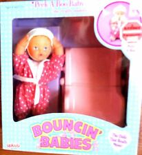 Galoob Vintage Peek-A-Boo- Baby with Walker She really moves Brand New