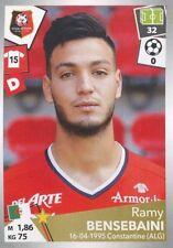 393 RAMY BENSEBAINI ALGERIE STADE RENNAIS FC Paradou AC STICKER PANINI FOOT 2018