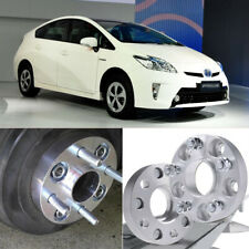 2pcs 5X100 54.1CB 25mm Hubcenteric Wheel Spacer Adapters For Toyota Prius 2005+