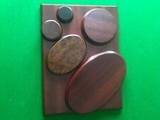 Wooden Display Plinths - Different Sizes - Hardwood - Mahogany - Walnut - Oak