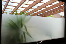 6,58€/m² Milchglasfolie Sichtschutzfolie Glasdekorfolie Frosted selbstklebend
