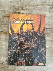 Warhammer - Hordes of Chaos book - 2002 - Games Workshop