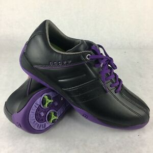 ONOFF gold shoes model OS7114 BLACK PURPLE size 24.5 US size 8