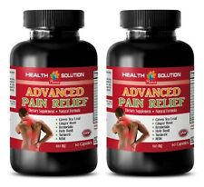 Pain relief vitamins - ADVANCED PAIN RELIEF - 2 Bottles- holy basil anti aging