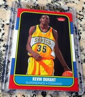KEVIN DURANT 2007 Fleer GLOSSY 1986 SP RARE Rookie Card RC MVP Warriors NETS $$