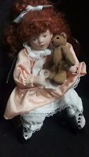 Ashton Drake Galleries Victorian Story Time Porcelain Doll