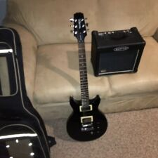 Hamer XT Series Guitar with Kustom AMP and Case