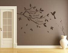 Home Sweet Home Branch - Highest Quality Wall Decal Sticker
