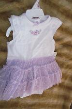 Little Me BabyTutu Dress 9 Monthes Ballet Polka Dots Tulle One Piece Bottoms New