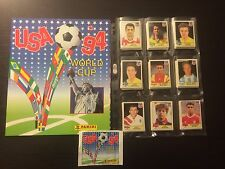 PANINI WORLD CUP USA 94 WC 1994 COMPLETE STICKERS COLLECTION + EMPTY ALBUM RARE