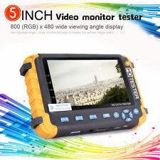5MP 4-in-1 TVI/AHD/CVI/CVBS 5inch CCTV Security Camera Tester IV8W Support PTZ