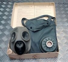 Genuine Swedish Army Vintage Gas Mask with Filter Dated 1940 / WWII In Box 003