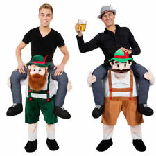Fancy Dress Costume Carry Me Bavarian Beer Guy Ride On Oktoberfest Mascot Hot