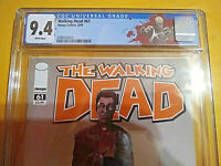 THE WALKING DEAD #61 - CGC 9.4 - WHITE PAGES - 1st APP FATHER GABRIEL AND CHEW