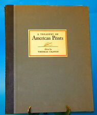 A Treasury of American Prints Thomas Craven 1939 Simon & Schuster VG