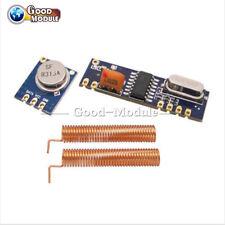 433MHz Wireless Module Kit ASK RF Transmitter&Receiver+2pcs Copper Antenna Top