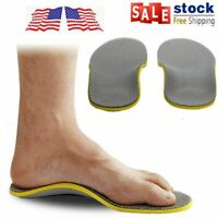 Flat Feet Foot High Arch Gel Support Inserts Pad Foot Care Orthotic Shoe Insoles