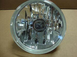 """Big Dog Motorcycles OEM headlight lens w/ H4 bulb 5 3/4"""" glass 2000-11 models"""