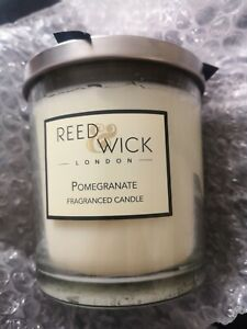 Reed Wick POMEGRANATE fragranced Candle. 300g. New