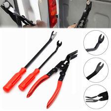 3 Pcs Portable Car Door Card Panel Trim Clip Plier Remover Repair Pry Bar Tool