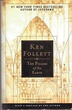 THE PILLARS OF THE EARTH-KEN FOLLETT-#1 NY TIMES BESTSELLING AUTHOR-973 PAGES