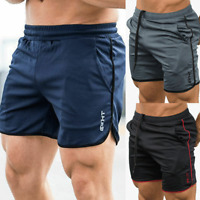 Men's Gym Shorts Bodybuilding Fitness Sport Short Pants Running Bottoms Trousers