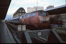 Originaldia DB 218 345 Munich 13.1.1994