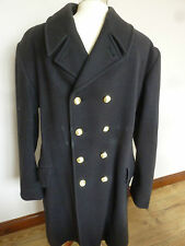 "ROYAL NAVY MANS ""RATINGS"" GREATCOAT CHEST: 100CM GENUINE ROYAL NAVY ISSUE"