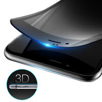3D Carbon Fiber+Tempered Glass Film Anti-Spy Privacy Screen for iPhone 7/6s Plus