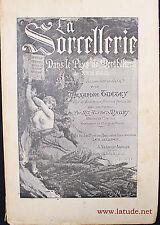 1886 SORCELLERIE, FRANCHE-COMTE, MONTBELIARD