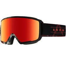 anon M3 Men Goggle Snowboardbrille Farbe Redplanet/sonarred