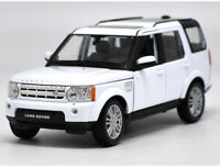 Welly 1:24 Land Rover Discovery 4 White Diecast Model Car Vehicle New in Box