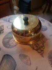 Brass lid Vintage