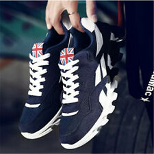 MENS SHOCK ABSORBING RUNNING TRAINERS CASUAL LACE UP GYM WALKING SHOES PLUS SIZE