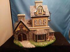 PartyLite Village Olde World #1 Candle Shoppe Shop Tealight - Pristine Condition