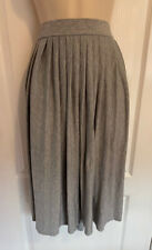 ATMOSPHERE Grey pleated elasticated waist skirt - Size 20