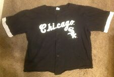 Chicago Sox jersey shirt size XL 1992 MLBP black Competitor