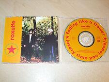 Roxette - Fading like a Flower (CD) 4 Tracks - Nr Mint - Fast Postage