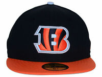 Authentic NFL Cincinnati Bengals Men Reflective Hat New Era 59Fifty Fitted Cap