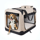 Dog Soft Crate  Beige 36 In Kennel for Pet Indoor Home Outdoor Use-Soft Sided 3