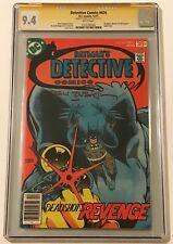 Detective Comics #474 CGC 9.4 White SS SIGNED TERRY AUSTIN! 1st App of DEADSHOT!