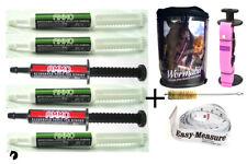 Premium One Year Horse Wormer AMMO Rotation kit Wormabit Pink Weight Tape