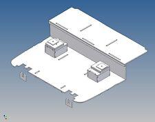 ALK - Fahrerhausboden für Tamiya ACTROS (M 1:14) - Liege, Sitzkonsolen