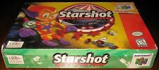 Starshot: Space Circus Fever (Nintendo 64) SealED!!
