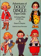 Adventures of Dolly Dingle Paper Dolls by Grace Drayton - Full Color -1985 NM-MT