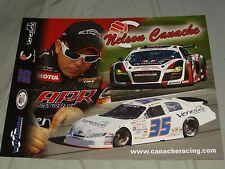 2012 NELSON CANACHE #35 VENEZUELA ARCA NON-NASCAR POSTCARD