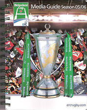 HEINEKEN CUP RUGBY MEDIA GUIDE 2005/6 MUNSTER WINNERS