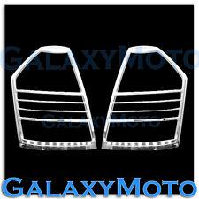 08-10 Chrysler 300+300C Chrome Plated Taillight Tail Light Trim Bezel Lamp Cover